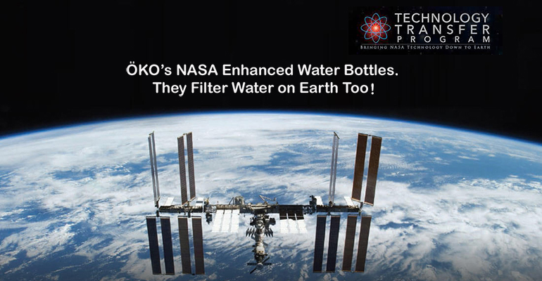 ÖKO's NASA Enhanced Water Bottles